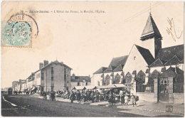 10. SAINTE-SAVINE. L'Hôtel Des Postes, Le Marché, L'Eglise. 79 - France