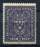 27196) �STERREICH # 203 gefalzt aus 1916, 30.- �
