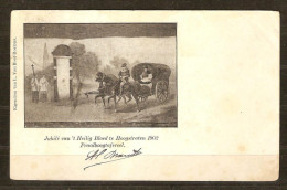 Hoogstraten Heilig Bloed Gebruikt  Stempel 1902 Uitgever L Van Hoof-Roelans 2 Scans - Hoogstraten