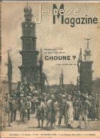 Jeunesse Magazine N°44 (2 ème Année) Du 30 Octobre 1938 Savez-vous Ce Que C'est Qu'un GHOUME? - Altre Riviste