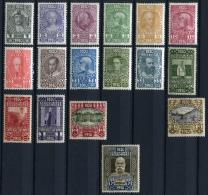 27197) �STERREICH # 161-77 gefalzt aus 1910, 550.- �