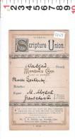 A 3765   CHILDREN'S SPECIAL SERVICE MISSION  SCRIPTURE UNION   1912 - Calendari