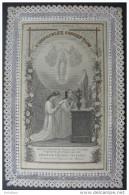 CANIVET DENTELLE Ouvrant  XIXème : PETIT OFFICE DE L´IMMACULEE CONCEPTION - HOLY CARD SANTINO - Images Religieuses