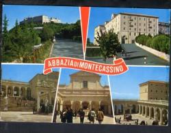 J569 Abbazia Di Montecassino (Frosinone, Lazio ) Animata, Animated, Animè - Chiesa, Eglise, Church - Altre Città