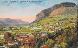 Grenoble - Quartier De La Porte De France - Le Casque De Néron - La Commune De Saint-Martin-le-Vinoux - Carte LL - Grenoble
