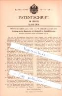 Original Patent  - Waggonfabrik AG Und W. Jakobs In Rastatt , 1901 ,  Eisenbahnfahrzeuge , Eisenbahn !!! - Historische Dokumente