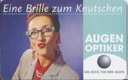 Telefonkarte.- Duitsland. Eine Brille Zum Knutschen. Augen Optiker. 12 DM. 6.14 €.ODS R 0002 04.1999. 200.000 DTMe - Duitsland