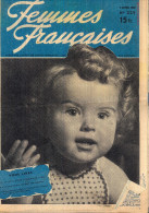 FEMME FRANCAISE N°229 9 AVRIL 1949 - Newspapers