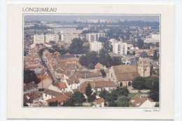 91- LONGJUMEAU - VUE GENERALE   - RECTO/ VERSO-C3 - Longjumeau