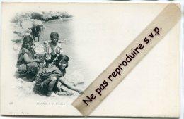 - 49 - Algérie - Fillettes  à La La Rivière, Splendide, Précurseur, Non écrite, TBE, Scans. - Kinderen
