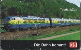 Telefonkarte.- Duitsland. Die Bahn Kommt. DB. 50 DM. Touristik Zug. Trein Eisenbahn. S 17 11.96. 750.000 DTMe. 2 Scans - Duitsland