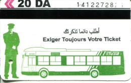 T�l�ph�rique d'Alger - Ticket unit� (Alg�rie)