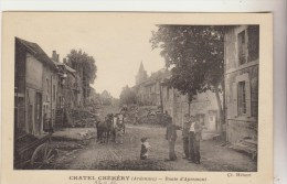 Chatel-Chéhéry : Route D´Apremont. - Other Municipalities