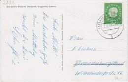 Bund Heuss Med Mi 303 Landpost Stempel Helmeroth ü Hamm / Sieg Kte 1960 - [7] West-Duitsland