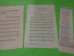 Ma P´tite Femme -sur Le Seuil De Ta Porte.-elle Est De L´italie Ou Mon Italienne- - Partitions Musicales Anciennes