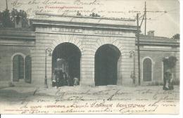 10 - PERPIGNAN - LA PORTE DE LA REPUBLIQUE - AVENUE DE LA GARE ( Animées ) - Perpignan