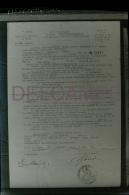 Négatif Photo Original 13x18cm Acte D'engagement Dans La Légion étrangère 1939 Ernst Koenigberger - Krieg, Militär