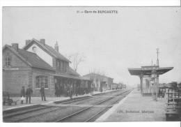 Berguette (62) - La Gare. Bon état, Non Circulé. - Autres Communes