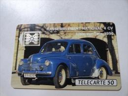 RARE: CAR OCCITAN 4CV (MINT CARD) ISSUE 1000