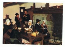 FOLKLORE ,Une Veillée En Haute Auvergne  (voyagé Le 27-8-1971) - Folklore