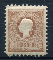 27208) �STERREICH Lombardei & Venetien # 10 gefalzt aus 1858, 320.- �