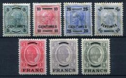 27212) �STERREICH Post auf Kreta # 1-7 gefalzt aus 1903, 85.- �