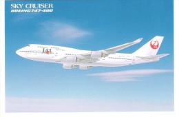 JAL - Japan Airlines - Sky Cruiser - Boing 747-400 - 1946-....: Moderne