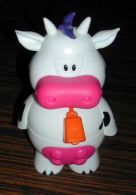 Figurine Figures Personnage Vache Porte Bonbons Vide En Plastique - Otros