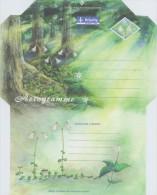 ALAND : Aerogramme/Postal Stationery/Entier Postal/Ganszache: FLORA,BLOEMEN,FLEURS, FLOWERS,BLUME,BOOM,ARBRE,TREE,BAUM, - Autres