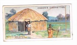 Ogden´s Cigarettes Card - Royal Mail Serie N° 26 - Primitive Post Office Matabeleland - Ogden's