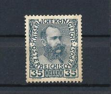 AUSTRIA 1908) Impero - 80� Compleanno  Francesco Giuseppe I   UNIF. N.111 MLH