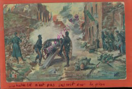 CPA  02  MILITARIA  Tableau Signé Paul Thiriar   Comment Les Allemand Furent Chassées De L'Aisne NOV  2014 DIV 155 - Künstlerkarten