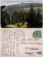 Alte Farbfoto-AK Himmelsleiter - Aufstieg Zum Fichtelberg (Höchster Punkt Sachsens) - Deutschland