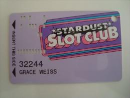 USA - CASINO CARD  - STARDUST