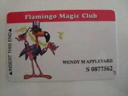 USA - CASINO CARD  - FLAMINGO