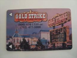 USA - CASINO CARD  - GOLD STRIKE
