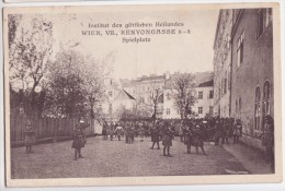 Wien VII - Institut Des Gottlichen Heilandes - Kenyongasse 6-8 - Spielplatz Mit Kinder 1928 - Other