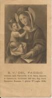 SANTINO B.V. DEL FAGGIO PARROCCHA DI S. MARIA ASSUNTA DI CASTELLUCCIO - Santini