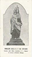 SANTINO B.V. DEL ROSARIO CHIESA DI S. MAMANTE DI LIZZANO IN BELVEDERE - Santini