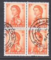 HONG KONG  203 X 4   (o)  Wmk.  314  .  UPRIGHT - Hong Kong (...-1997)