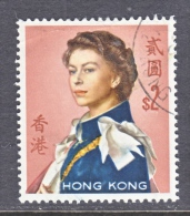 HONG KONG  214   (o)  Wmk.  314  .  UPRIGHT - Hong Kong (...-1997)