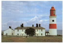 Postcard - Souter Point Lighthouse, Northumberland. D-59063 - Lighthouses