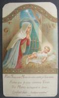 IMAGE PIEUSE (chromo Vers 1920) NOEL - L´ENFANT JESUS DE LA CRECHE / HOLY CHRISTMAS CARD / SANTINI / NATAL / Weihnachten - Images Religieuses