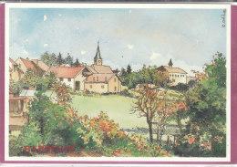 90.- OFFEMONT .- Rue Aristide Briand   ( Illustr. C. ODILE 200 Ex..) - Offemont
