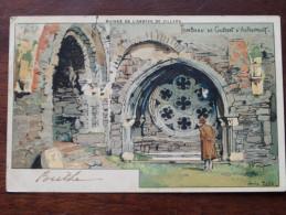Ruines De L´Abbaye De Villers - Tombeau De Gobert D'Aspremont ( Hôtel Des Ruines )  Anno 1908 ( Zie Foto Details ) !! - Villers-la-Ville
