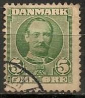 Timbres - Danemark - 1912 - (Frederik VIII) - 5 Ore -  Oblitéré -