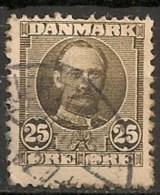 Timbres - Danemark - 1912 - (Frederik VIII) - 25 Ore -  Oblitéré -