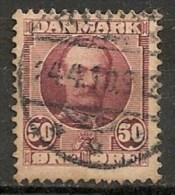 Timbres - Danemark - 1912 - (Frederik VIII) - 30 Ore -  Oblitéré -