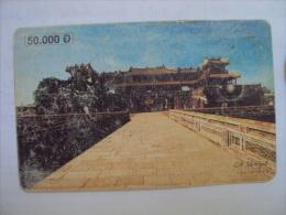 Vietnam Viet Nam Used Chip 50000d Phone Card / Phonecard : Hue (2) / 02 Images - Vietnam
