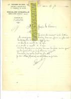 42 - Loire - BOEN-SUR-LIGNON - Facture ESCALON-CHAZELLE - Poissons En Gros – 1934 - REF 145 - France
